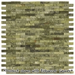 Eco Green Split Mosaic Marble Tile