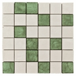 Emilia Nera Mix 4 Mosaic Decorative Travertine Tile