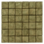 Emilia Verde Mosaic Decorative Travertine Tile