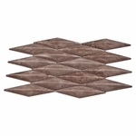 Etrusca Brown 3D Mosaic Decorative Travertine Tile