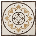 Fiore Di Marmo Decorative Medallion