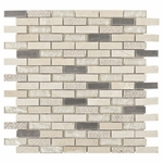 Kadavu Brick Mosaic Glass Tile