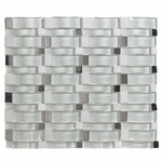Kahalulu Wavy Mosaic Glass Tile 16mm