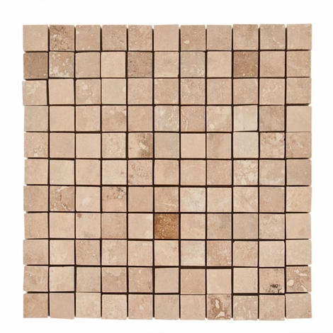 Karina Wavy Mosaic Travertine Tile