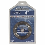 Lackmond Turbo Continuous Rim Wet Saw Blade 4in.