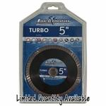 Lackmond Turbo  Concave Centered Wet Saw Blade 5in.