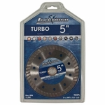 Lackmond Turbo  Continuous Rim Dry/Wet Saw Blade 5in.
