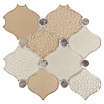 Lak Beige Decorative Glass Mosaic