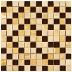 Mallorica Mix Mosaic Glass and Stone Tile 8mm