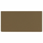 Matte Cocoa Subway Ceramic Wall Tile