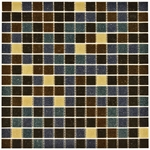 Mix Mosaic Glass Tile 4mm Design 2