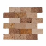 Mix Travertine Mosaic