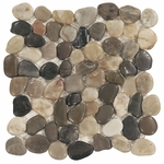 Multi Pebble Marble Mosaic