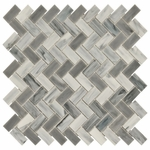 New Art Chevron Cloud Mosaic Glass  Stick 10mm