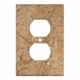 Noce Travertine Outlet Plate