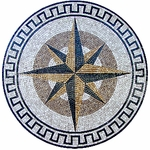 North Star Decorative Medallion