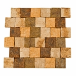 Orsini Stacked Brick Decorative Travertine Mosaic