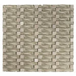 Pacifico Wave Mosaic Glass Tile
