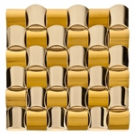 Pillows Mosaic Metal Tile