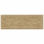 Portonova Gray Ceramic Scroll Listello