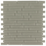 Pure Dusk Stick Matte Mosaic Glass Tile 8mm