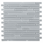 Pure Dusk Stick Mix Mosaic Glass Tile 8mm