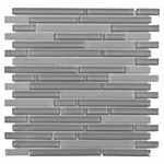 Pure Shadow Stick Mix Mosaic Glass Tile 8mm