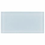 Pure Spa Blue Matte Glass Tile 8mm