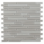 Pure Wool Stick Mix Mosaic Glass Tile 8mm