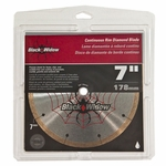 QEP Black Widow Wet Saw Blade 7in.