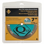 QEP Glass Wet Saw Blade 7in.