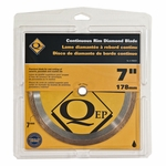 QEP Premium Continuous Rim Wet Saw Blade 7in.