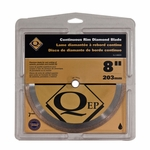 QEP Premium Continuous Rim Wet Saw Blade 8in.