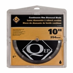 QEP Standard Continuous Rim Wet Saw Blade 10in.