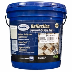 Reflection Diamond Glass Translucent Pre-Mixed Grout 9lb.