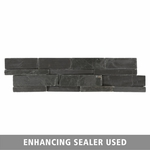 Royal Black Slate Panel Ledger