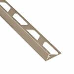Schluter Jolly Satin Nickel Anodized Aluminum Edge Trim