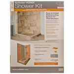 Schluter-Kerdi Centered Shower Kit 32X60