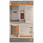 Schluter-Kerdi Centered Shower Kit 48X48