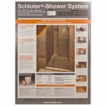 Schluter-Kerdi Off Center Shower Kit 32X60