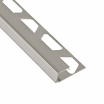 Schluter-Quadec Chrome Anodized Aluminum Square Edge