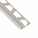 Schluter-Quadec Polished Chrome Anodized Aluminum Profile Edge