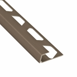 Schluter-Quadec Satin Nickel Anodized Aluminum Profile Edge