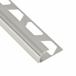 Schluter-Rondec Chrome Anodized Aluminum Trim