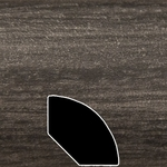 Color 19400Z Universal Laminate Quarter Round