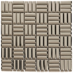Stainless Steel Bars Mosaic Metal Tile