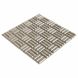 Stainless Steel Bars Metal Mosaic