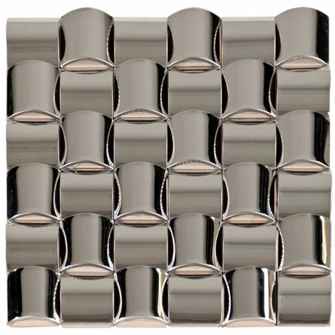 Stainless Steel Pillows Mosaic Metal Tile
