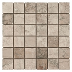 Temple Gray Mosaic Marble Tile