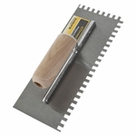 Tile Force Square-Notch Wood Handle Trowel